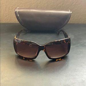 Brown BCBGMAXAZRIA sunglasses